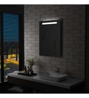 vidaXL Lavabo ovalado de cerámica negro 40x33 cm