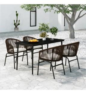 vidaXL Puente para jardín con barandilla madera pino 170x74x105cm