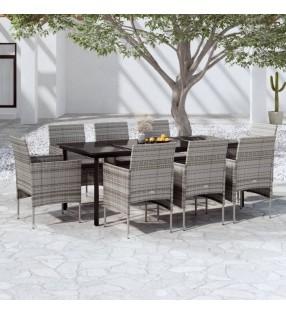 vidaXL Arenero de madera de pino impregnada 120x120x27 cm
