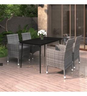 vidaXL Vasos de cristal térmico doble pared para café 6 uds 370 ml