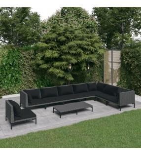 vidaXL Papelera con sensor automático de acero negro 80 L