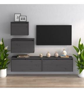 vidaXL Mesa de trabajo para cocina acero inoxidable 60x60x85 cm