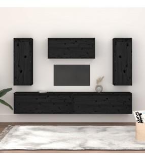 vidaXL Tocador con espejo abatible rectangular de MDF