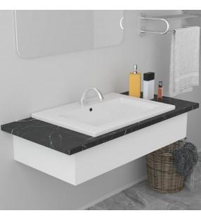 vidaXL Motor de gasolina 15 HP 9,6 kW negro
