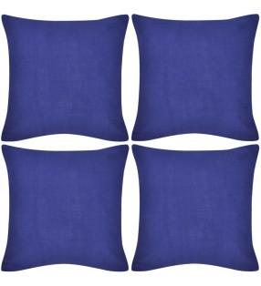 500 g/m² Bata de algodón unisex de color azul, talla XXL
