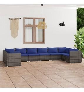 vidaXL Portería de fútbol con poste y red acero 240x90x150 cm