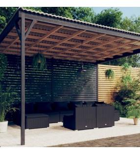 vidaXL Set de paddel surf tabla SUP inflable azul y blanco