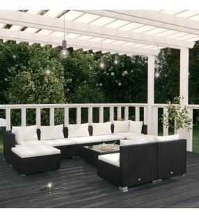 """Set de montura de caballo de 16"""" y cuero negro 14 cm, 5 en 1"""