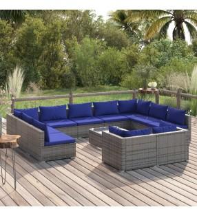 vidaXL Saco de dormir ligero recto rectangular para una persona