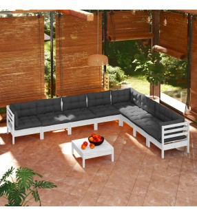 Manta de Lana con Cinchas 105 cm (Azul)