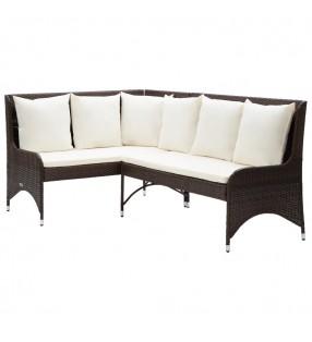 vidaXL Juego de maletas rígidas 4 unidades champán