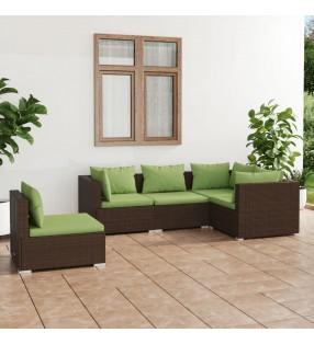 vidaXL Juego de 3 maletas blandas negro