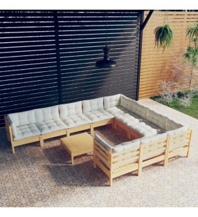 vidaXL Juego de 3 maletas blandas azul marino