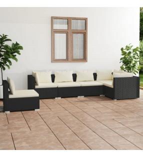vidaXL Juego de 3 maletas blandas color café