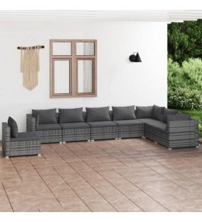 vidaXL Cochecito y remolque de bicicleta para niños 2-en-1 verde gris