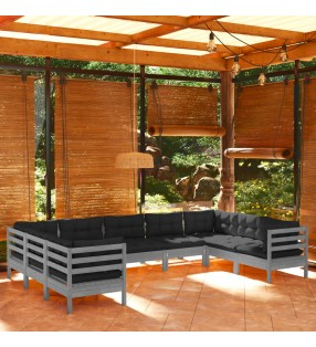 vidaXL Casa de juegos de niños madera roja
