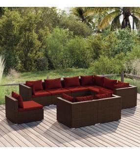 vidaXL Casa de juegos para niños con arenero madera azul UV50