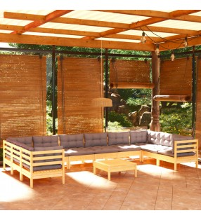 vidaXL Juego Golf Spin Ladder de madera