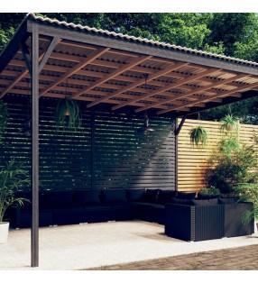 vidaXL Patinete eléctrico rosa 120 W