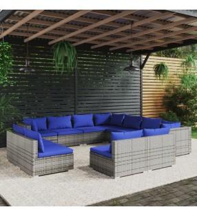vidaXL Rodillo de yoga EPE azul 15x90 cm