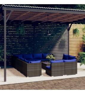 Bestway Protectores de suelo de piscina 8 piezas azul 50x50 cm