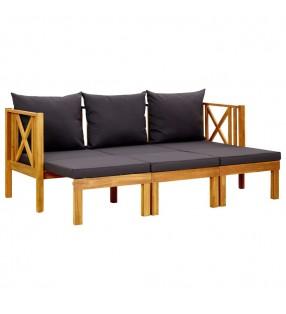 vidaXL Alfombrilla de seguridad cama elástica redonda multicolor 4,57m