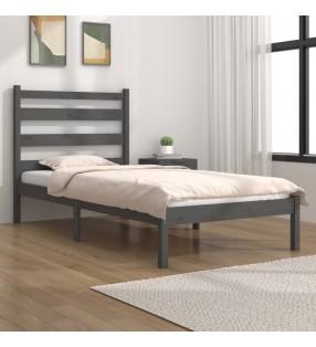 vidaXL Tumbona de madera maciza de acacia y acero inoxidable