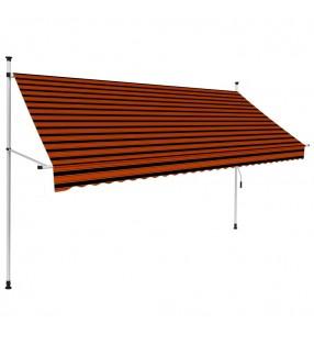 vidaXL Lavabo con rebosadero 45x32x12,5 cm negro