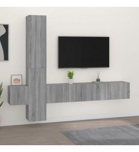 vidaXL Aparador de madera maciza de mango 80x30x60 cm