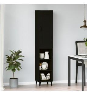 vidaXL Escritorio de aglomerado blanco brillante 140x50x77 cm