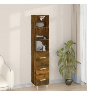 vidaXL Escritorio de aglomerado gris 140x50x77 cm