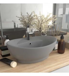 vidaXL Inodoro WC de montaje en pared con cierre suave cerámica blanco