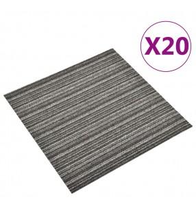 vidaXL Barras para conos de tráfico retráctiles 2 unidades 130-215 cm