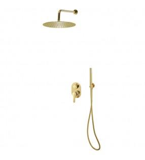 vidaXL Manguera de succión con conectores de latón 15 m 25 mm verde