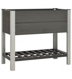 vidaXL Jardinera de gaviones de acero galvanizado 270x50x50 cm