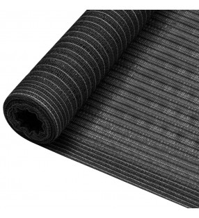 vidaXL Cuerda trenzada poliéster 10 mm 250 mm blanco