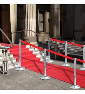 vidaXL Separador de privacidad de urinario de pared cerámica blanco