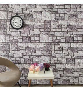 vidaXL Urinario de pared con sistema de descarga cerámica