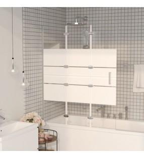 vidaXL Conector en U para postes de valla 25 sets 60x40 mm