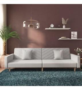 vidaXL Toldo para balcón tela oxford gris antracita y blanco 75x500 cm