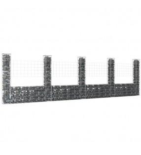 vidaXL Lona 650 g/m² 1,5x6 m verde