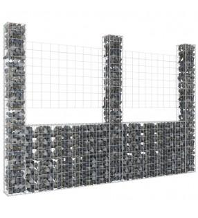 vidaXL Lona 650 g/m² 5x6 m verde
