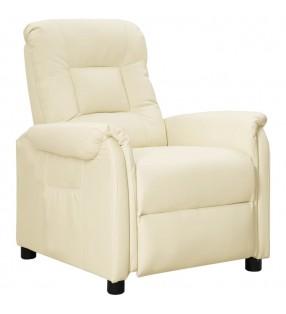 vidaXL Toldo para balcón tela oxford blanco y amarillo 90x300 cm