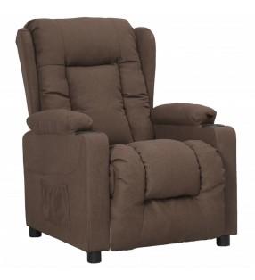 vidaXL Toldo para balcón tela oxford naranja y marrón 75x500 cm