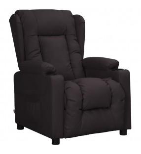 vidaXL Toldo para balcón tela oxford naranja y marrón 90x300 cm