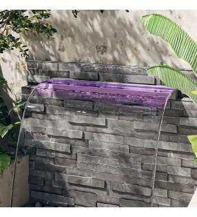 vidaXL Césped artificial con tacos PP 5x1 m verde