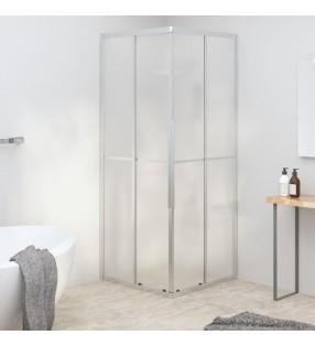 vidaXL Mampara de ducha accesible vidrio templado 90x195 cm