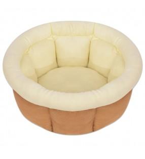 vidaXL Taburetes de cocina 6 unidades cuero sintético marrón oscuro