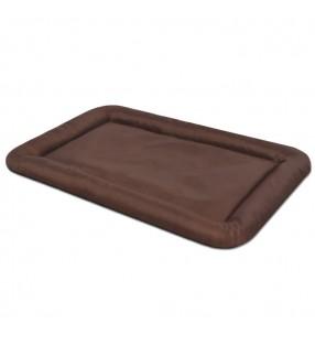 vidaXL Poste rascador para gatos con 2 casas gris 170 cm