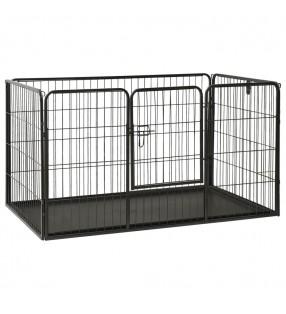 vidaXL Gallinero de madera con 1 jaula para huevos